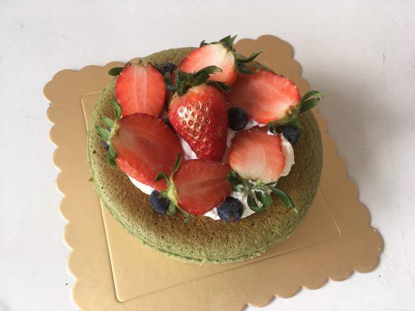 Keto Matcha Cheesecake Celebration
